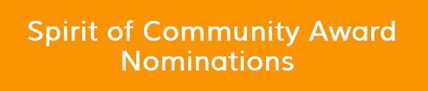 Spirit of Community Award Nominations - AHRC COA