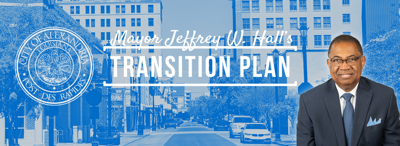 Mayor Jeffrey W. Hall's Transition Plan