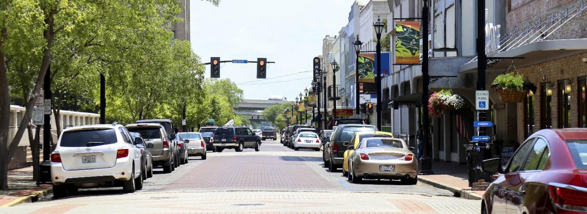 Historic Downtown Louisiana, Alexandria