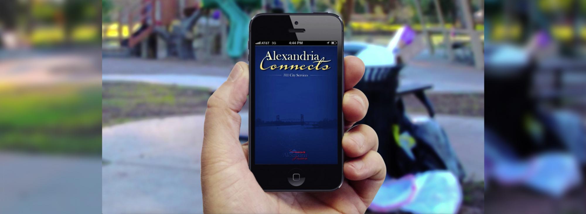 Alexandria Connects app - City of Alexandria, LA mayor